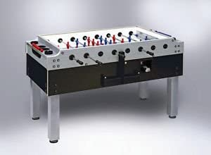 Garlando Coin-Operated Olympic Silver Foosball Table