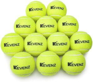 KEVENZ 12-Pack Standard Pressure Tennis Balls