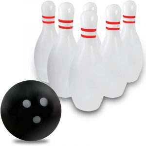 Novelty Place Giant Inflatable Bowling Set
