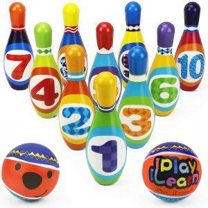 iPlay iLearn Kids Bowling Toys Set