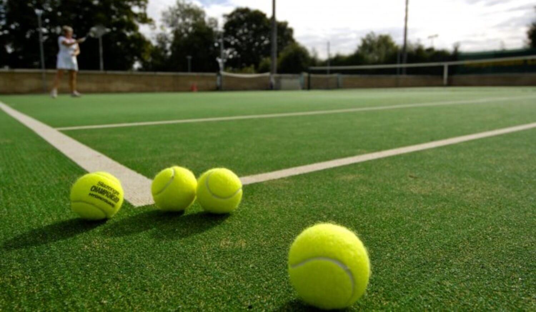 Artificial Grass Tennis Surface