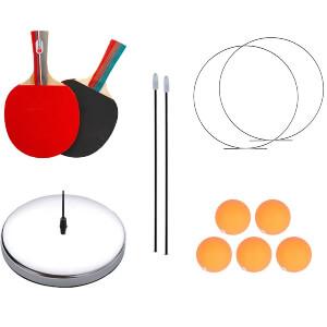DOBESTS Ping Pong Balls Paddles Set