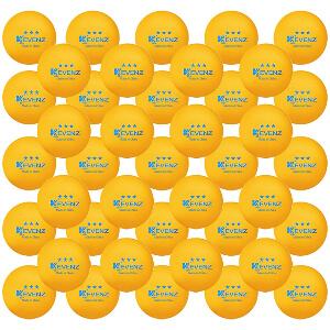 KEVENZ 60-Pack 3 Star Ping Pong Balls