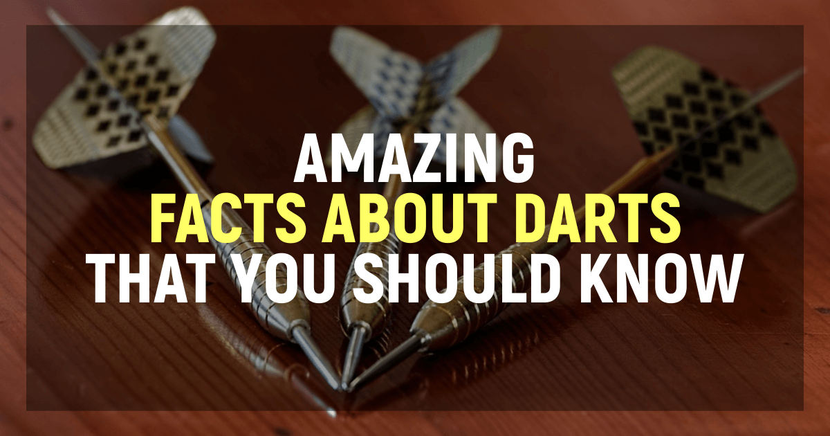 Most Amazing Facts About Darts
