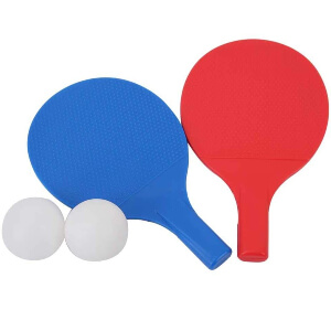 Outdoor Training Table Tennis Set with 2 Balls
