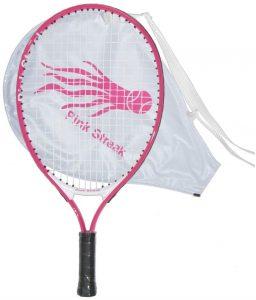 Pink Streak Junior Tennis Racquet