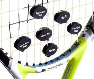 Tennis Vibration Dampener in Funny Zipper Gift Pack
