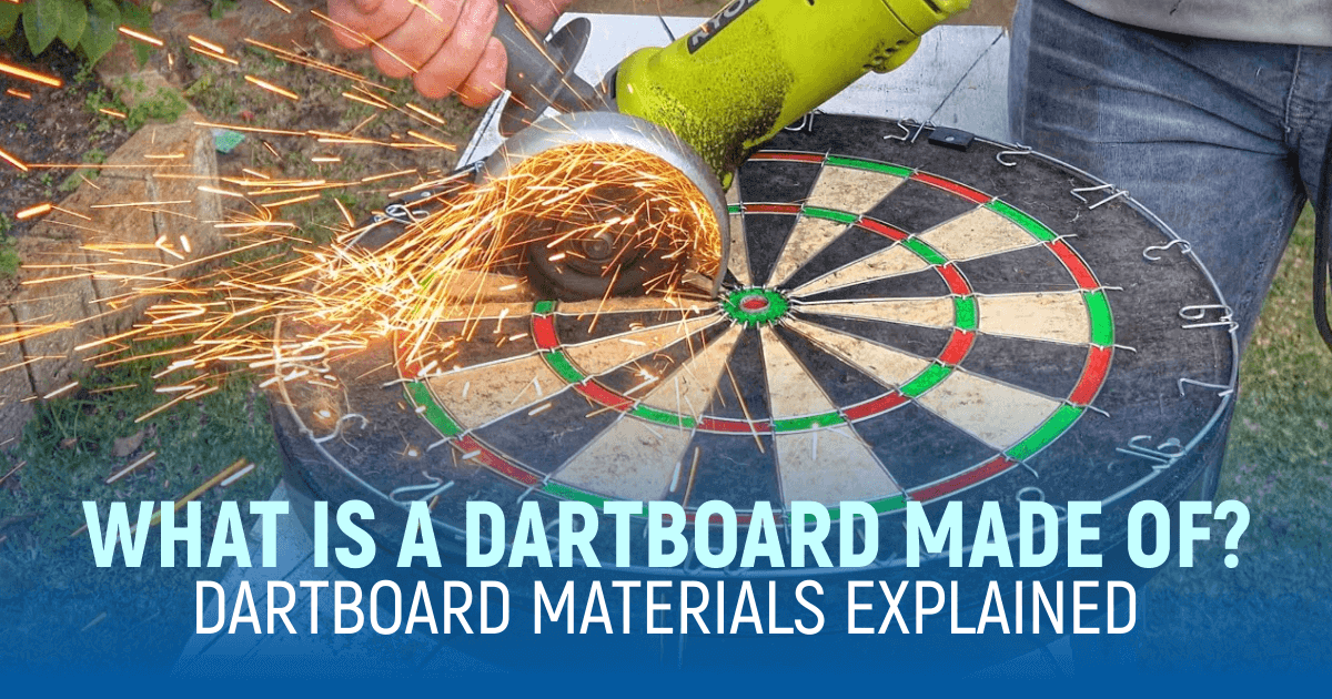 What Is A Dartboard Made Of