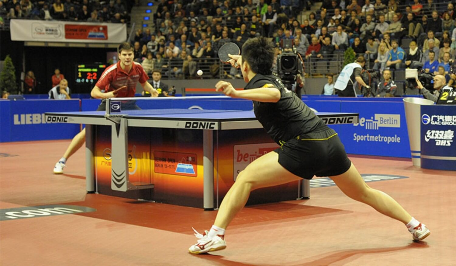 Table Tennis Footwork Exercises