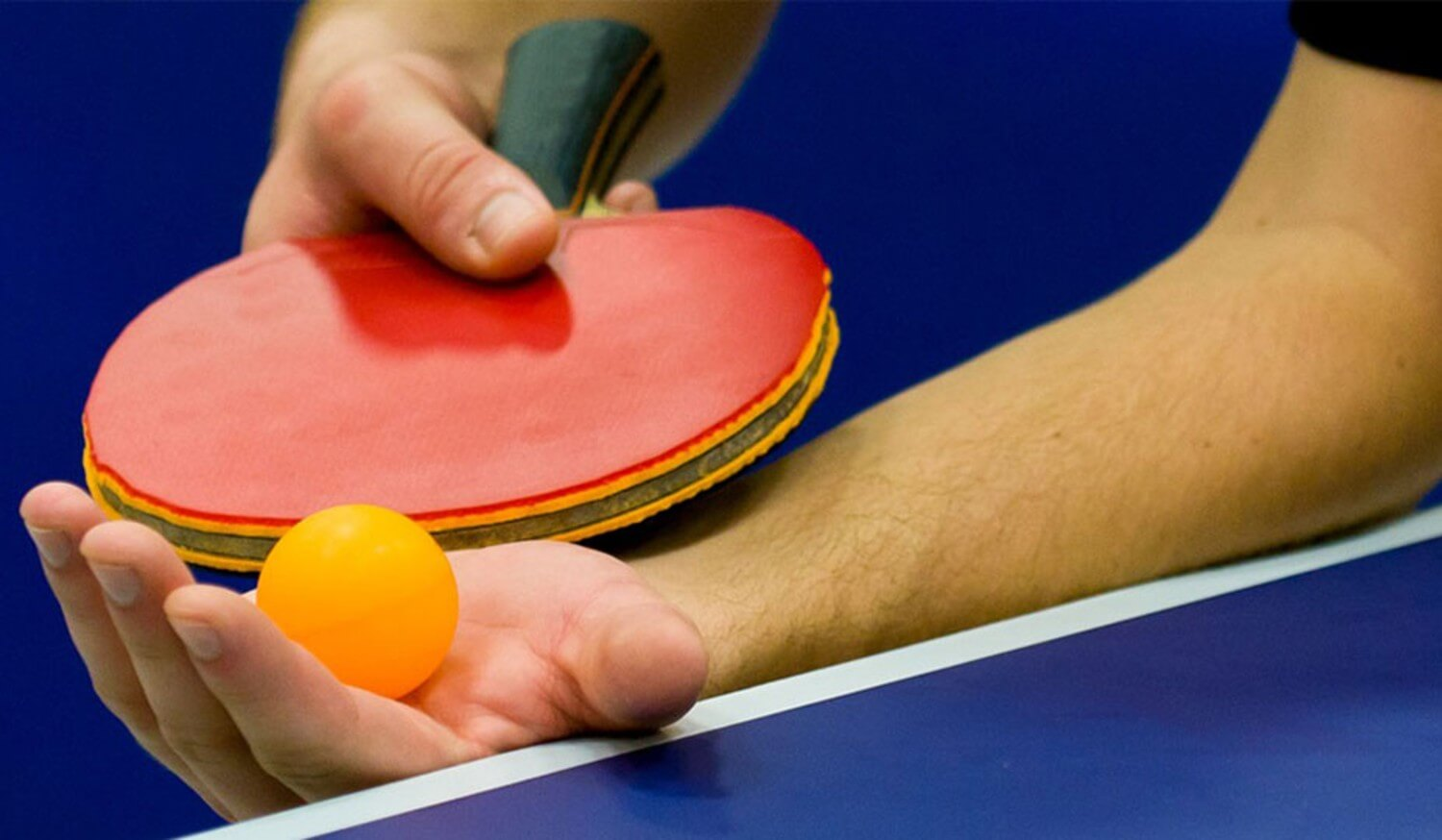 Table Tennis Spin Serve