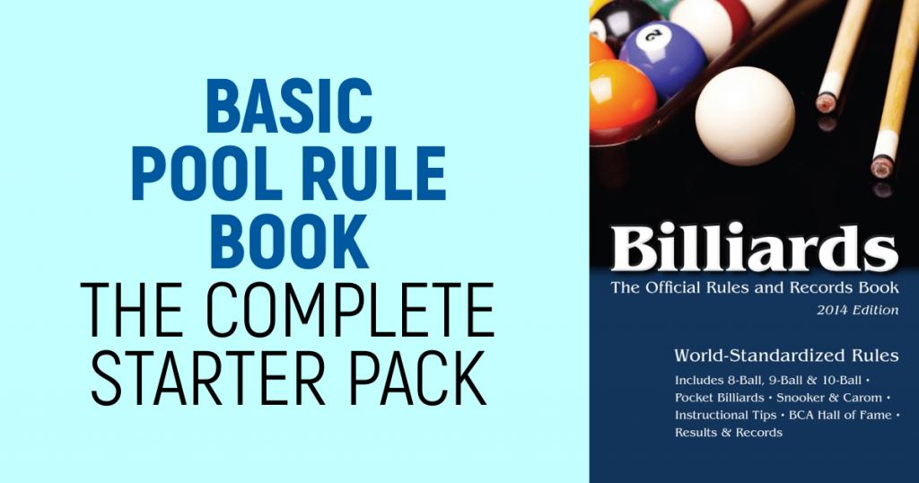 Basic Pool rules book